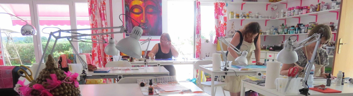 The Pink Buddha Art Studio