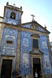Beautiful tiled Porto churches